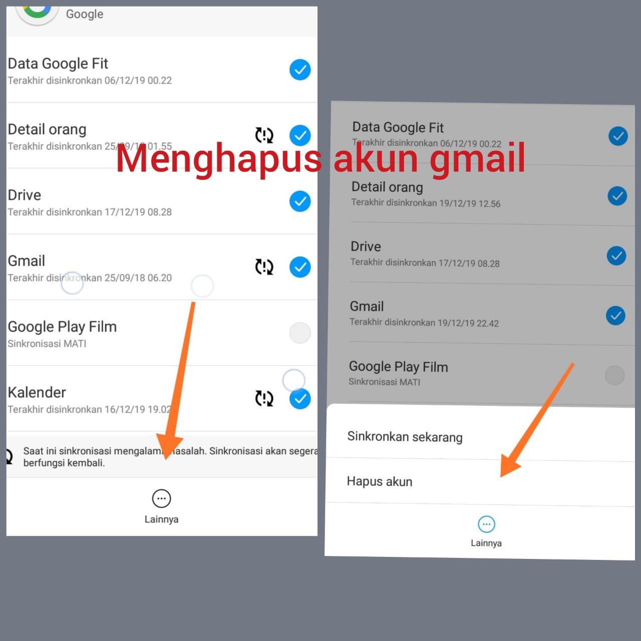 Menghapus Akun Gmail Di Hp Xiaomi Terbaru Dengan Mudah